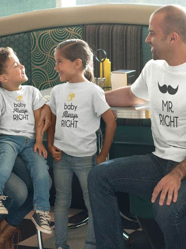 vader zoon mr right t shirts